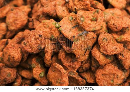 Thai Fried Food Made From Cassava Starch And Minced Fish.