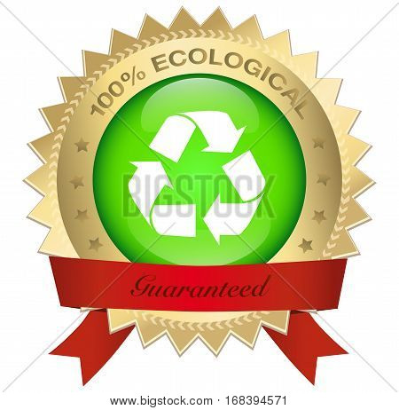 Siegel_100%_recycling_ Gold.eps