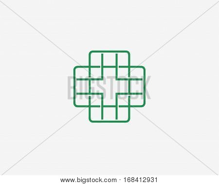 Medical icon , logo icon design template.