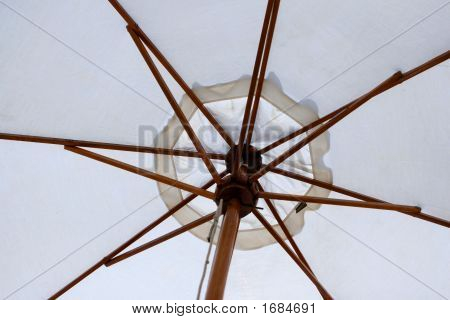 Look Into A Beach Umbrella