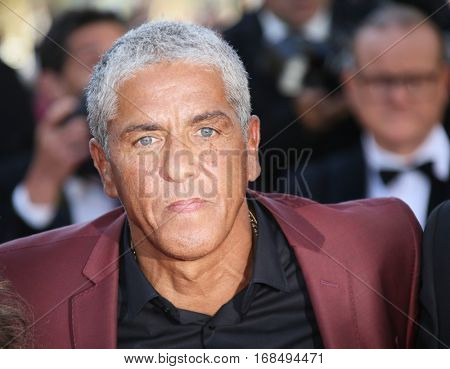 Samy Naceri attends the 'Graduation (Bacalaureat)' Premiere during the 69th annual Cannes Film Festival at the Palais des Festivals on May 19, 2016 in Cannes, France.