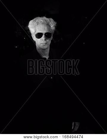 Jim Jarmusch attends the 'Gimme Danger' Premiere during the 69th annual Cannes Film Festival at the Palais des Festivals on May 19, 2016 in Cannes, France.