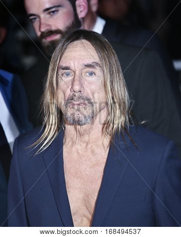Iggy Pop attends the 'Gimme Danger' Premiere during the 69th annual Cannes Film Festival at the Palais des Festivals on May 19, 2016 in Cannes, France.
