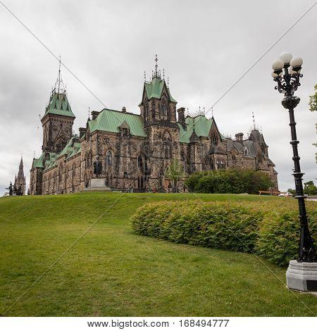 Canadian Parliament In Ottawa