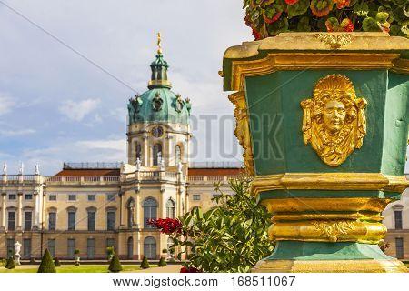Charlottenburg Palace In Berlin, Germany
