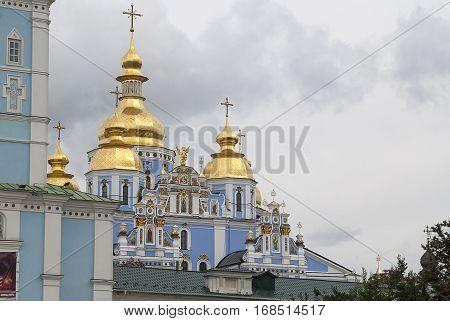 St. Michael's Golden - Domed Monastery in Kiev