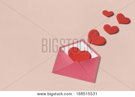 Love Letter Hearts Romance Lovey Lovey