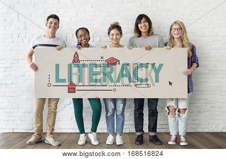 Academics Wisdom Literacy Study Icon