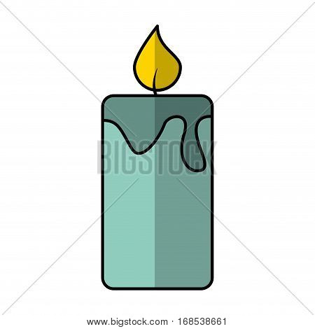 candle aroma therapy icon vector illustration design