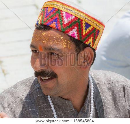 A Brahmin Priest In Uttarakhand.