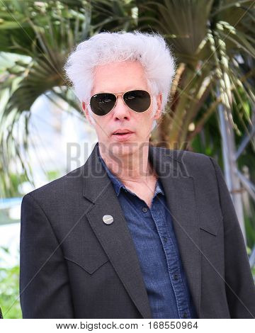 Jim Jarmusch attends the 'Gimme Danger' photocall during the 69th annual Cannes Film Festival at Palais des Festivals on May 19, 2016 in Cannes, France.