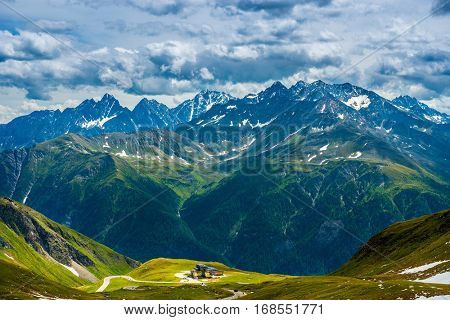 Grossglockner High Alpine Road. Austria. Alps.Europe