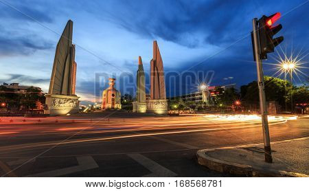 Democracy Monument ,thailand