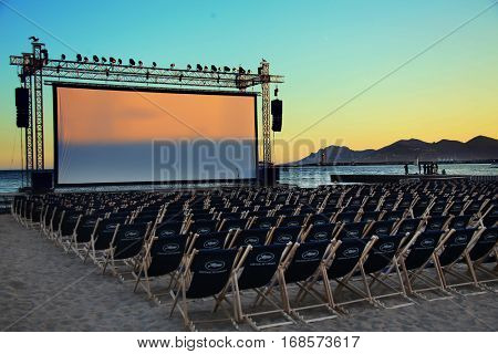 CANNES, FRANCE - MAY 21: A general view of atmosphere on during the 69th Annual Cannes Film Festival on May 21, 2016 in Cannes, France.