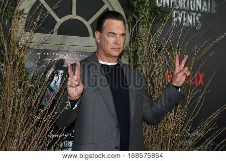 NEW YORK-JAN 11: Actor Patrick Warburton attends the world premiere of NETFLIX's Lemony Snicket's