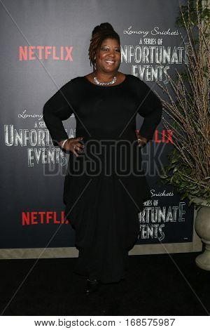 NEW YORK-JAN 11: Cleo King attends the world premiere screening of NETFLIX's Lemony Snicket's