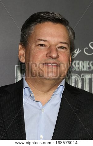 NEW YORK-JAN 11: Ted Sarandos attends the world premiere of NETFLIX's Lemony Snicket's