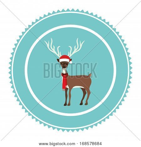 Christmas tag ornament icon vector illustration graphic design