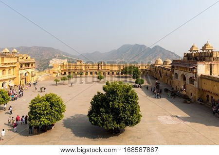 Amber Fort in Jaipur, India