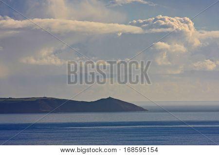 Rame Head on the Rame peninsular in Cornwall