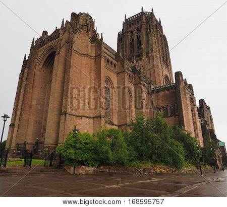 Liverpool Cathedral In Liverpool