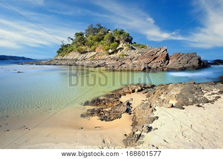 Number One Beach, Seal Rocks