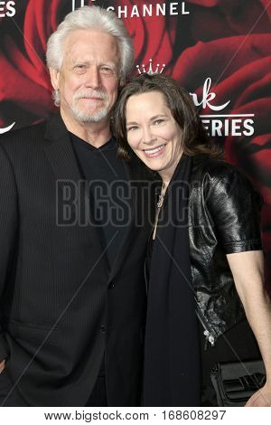LOS ANGELES - JAN 14:  Bruce Davison, Michele Correy at the Hallmark TCA Winter 2017 Party at Rose Parade Tournament House  on January 14, 2017 in Pasadena, CA
