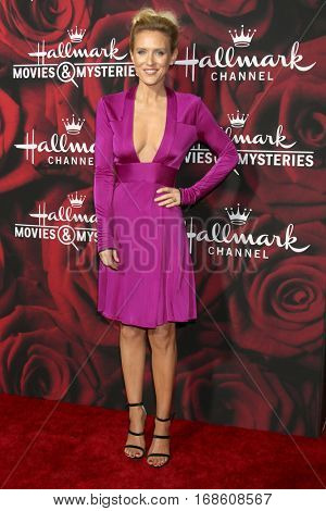 LOS ANGELES - JAN 14:  Nicky Whelan at the Hallmark TCA Winter 2017 Party at Rose Parade Tournament House  on January 14, 2017 in Pasadena, CA