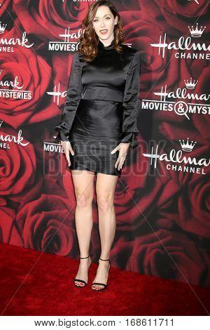 LOS ANGELES - JAN 14:  Sarah Power at the Hallmark TCA Winter 2017 Party at Rose Parade Tournament House  on January 14, 2017 in Pasadena, CA