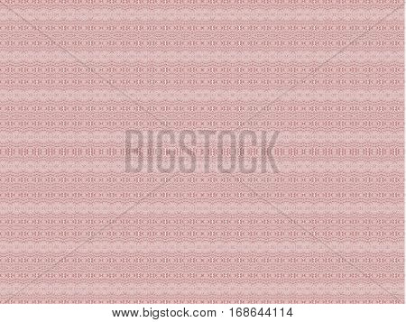 Abstract geometric seamless background single color. Regular ellipses pattern horizontally pink.