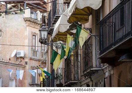Iglesias, old part of town, Sardinia, Italy, Europe