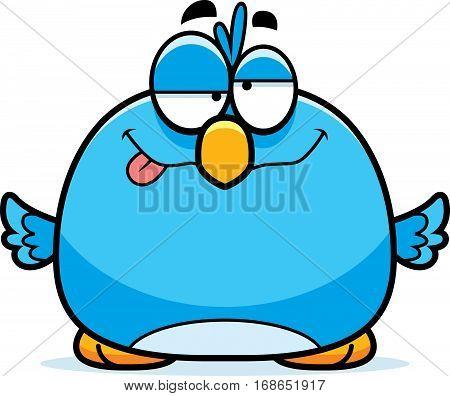 Drunk Little Bluebird