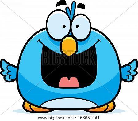 Happy Little Bluebird