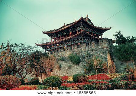 South gate of Dali Town, Yunnan, China