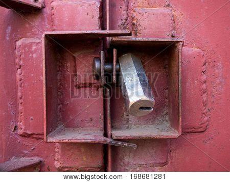 The guard against hacking lock garage door