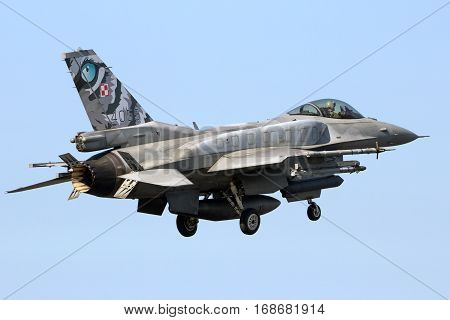 Polish Air Force F-16 Fighter Jet