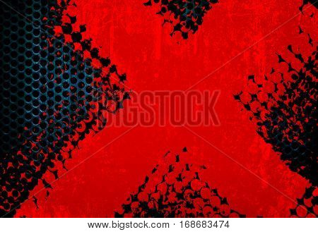 abstract metal mesh background
