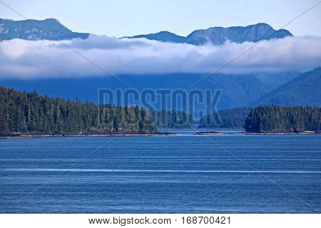 Remote inlets along the Inland Passage, Alaska