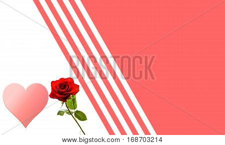 Romantic background with hearts with room for your text.