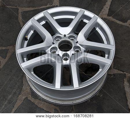 the titanium wheels for auto car tire