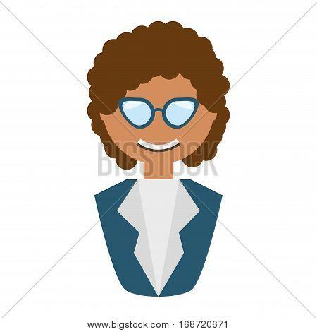 people fashionista woman icon image, vector illustration design