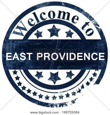east providence stamp on white background