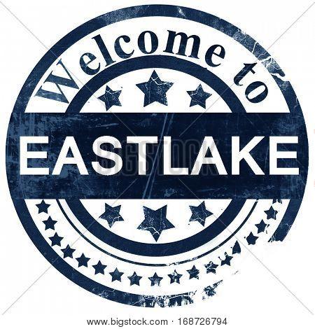 eastlake stamp on white background
