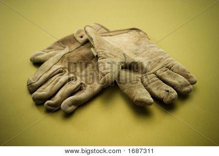 Old Work Gloves