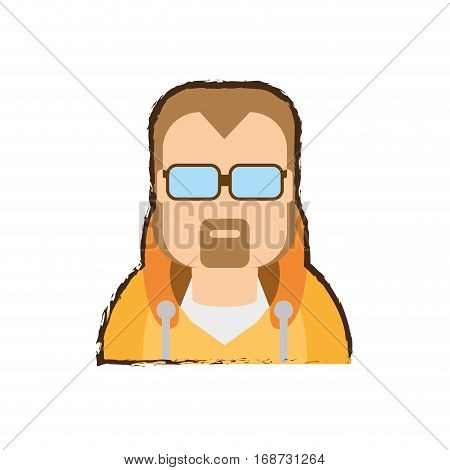people coach man icon image, vector illustration