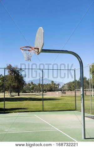 Playground Basketball Court