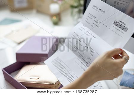 Shopping Commercial Online Internet Concept