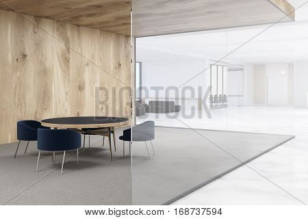 Waiting Area Of An Office