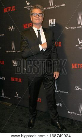 Harry Hamilin arrives at the Weinstein Company and Netflix 2017 Golden Globes After Party on Sunday, January 8, 2017 at the Beverly Hilton Hotel in Beverly Hills, CA.