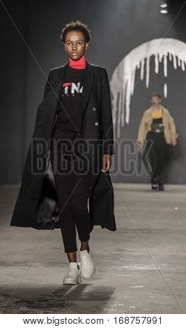 New York Fashion Week: Men's Rochambeau Fw 2017 Collection